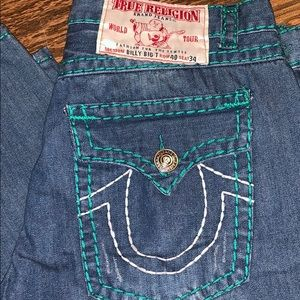 EUC men's True Religion jeans. Size 40/34